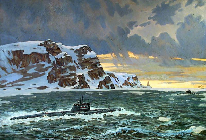 подводные лодки на карском море
